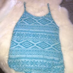 Gianni Bini peep side tank top